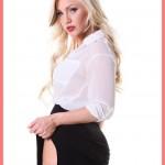 The Right Girl - DeskBabe Solo Striptease Estonika